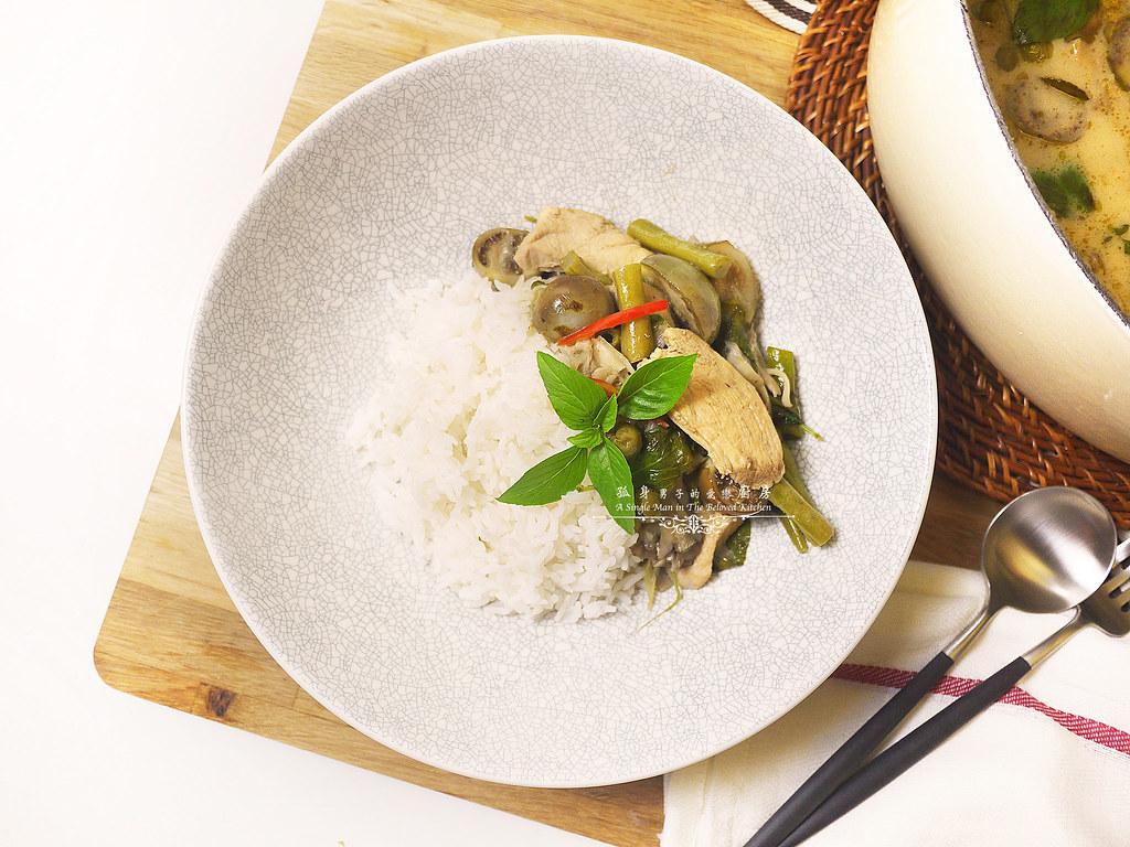 孤身廚房-滿滿新鮮香料版的泰式綠咖哩雞31