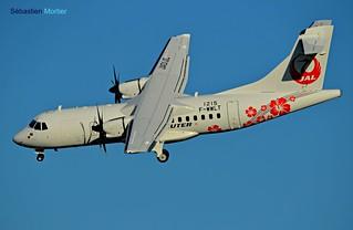 ATR.42-600 JAPAN AIR COMMUTER F-WWLT 1215 TO JA01JC 06 01 17 TLS