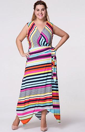 plus size clothing fun stripes