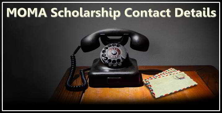 MOMA Scholarship Contact Details