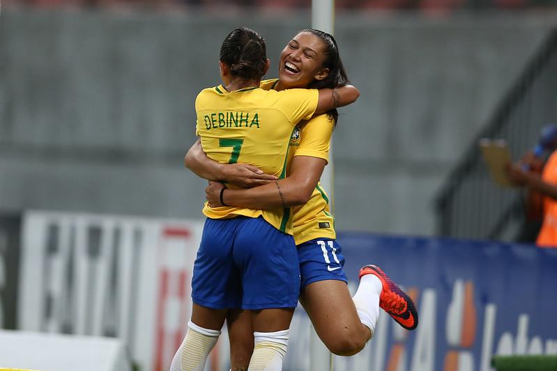 Brasil x Rússia pelo Torneio Internacional de Seleções Femininas