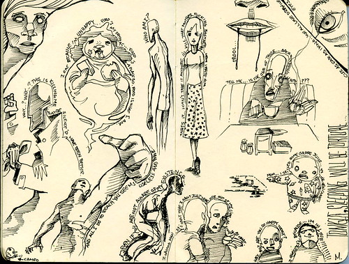 moleskine sketches c | by Sick Sad M!kE