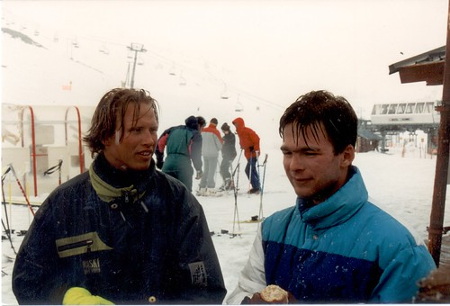 Kaare and Martin - Skiing 1993 075 f022 | by ask