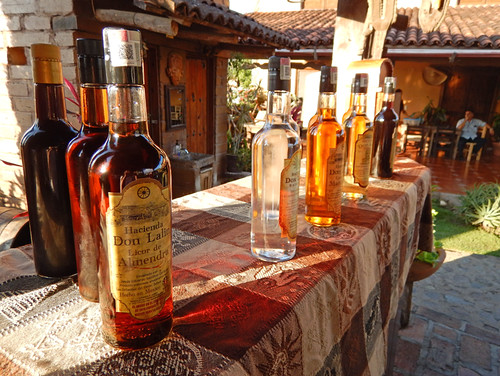 An organic tequila factory in San Sebastian, a Pueblo Magico up in the mountains above Puerto Vallarta