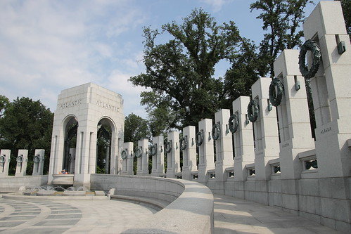 World War II Memorial (National Mall, Washington DC) - July 30, 2015