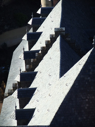 Roof Angles in Segovia's castle