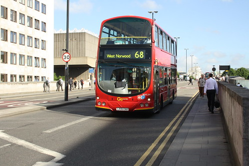 London Central WVL241 LX06EAA