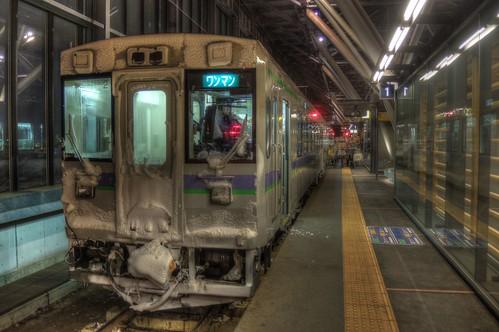 Asahikawa Station on JAN 07, 2017 vol02 (3)