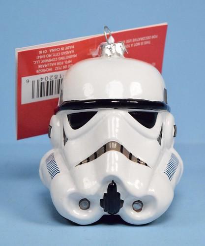 Stormtrooper helmet Christmas ornament by Hallmark