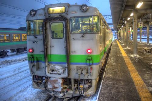 Iwamizawa Station on JAN 02, 2017 (3)