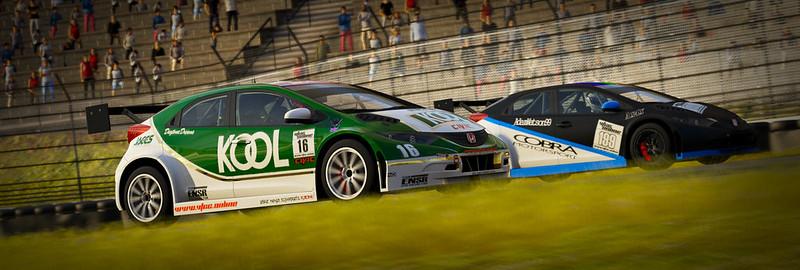 VTCC Spec Series 10 - #5 Zengo Motorsports Honda Civic WTCC 30862502244_d9e27bf58a_c