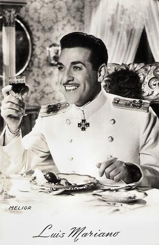 Luis Mariano in Der Zarewitsch (1954)