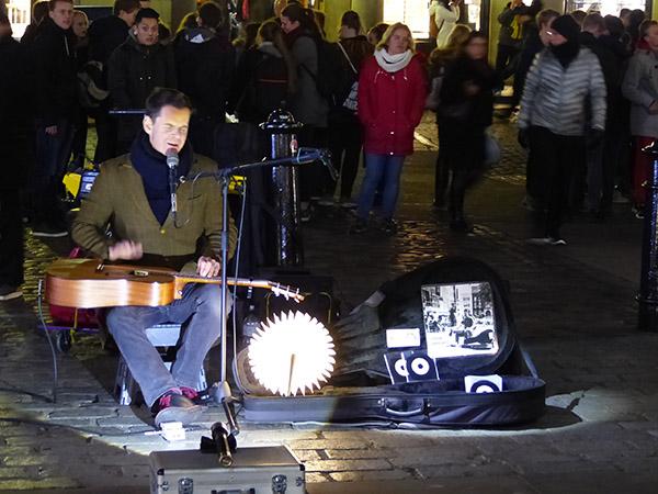 musicien à Covent Garden