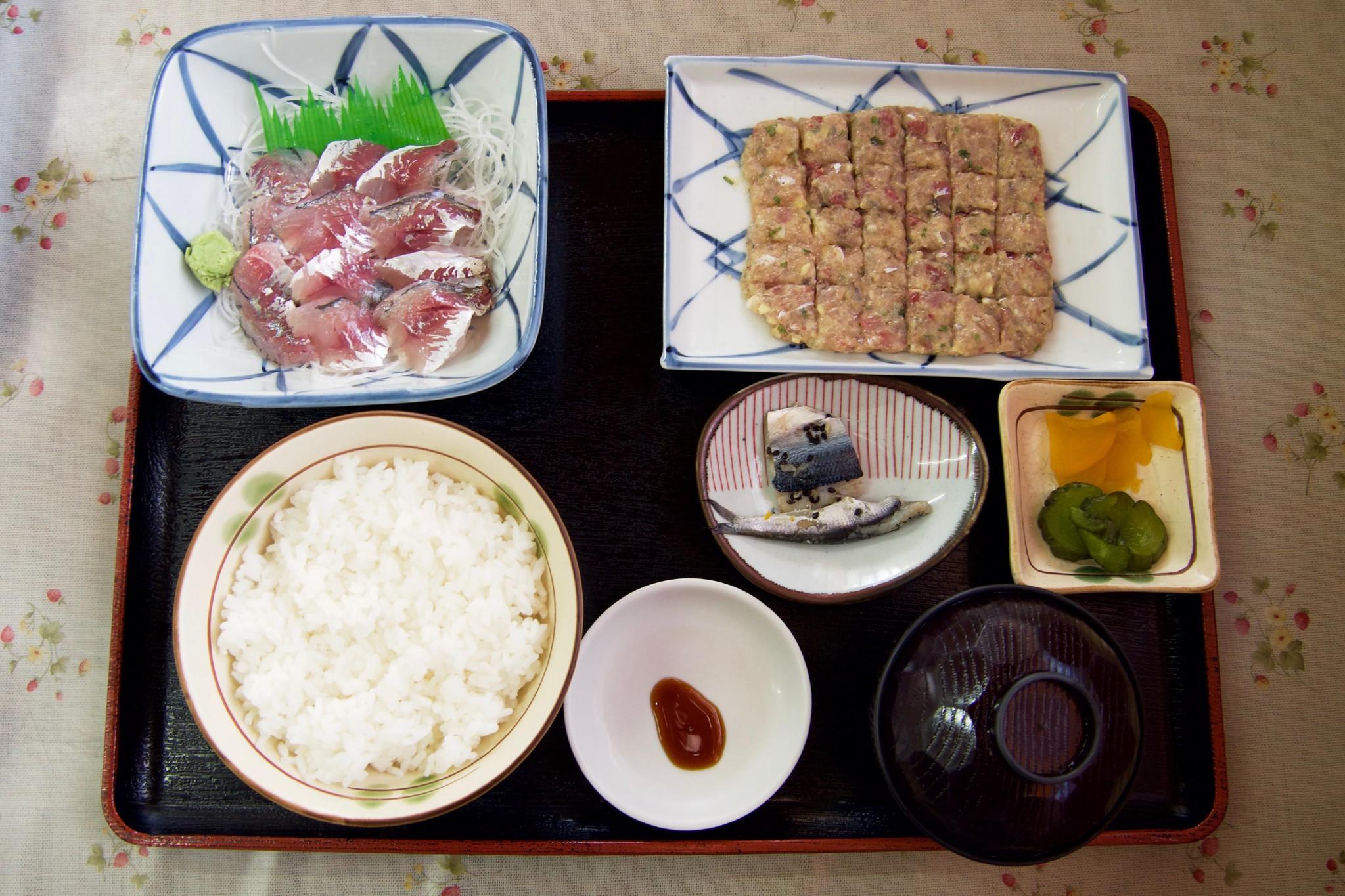 金沢魚店 アジたっぷり定食