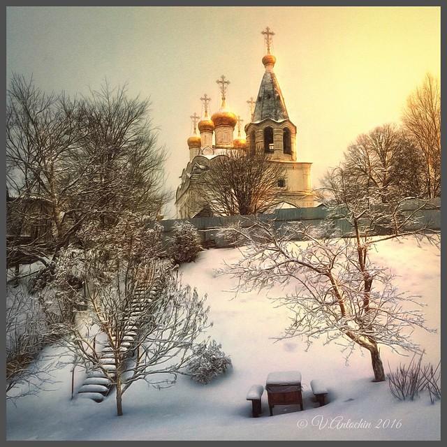Winter in Spas Zagor'ye
