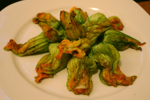 zucchini blossoms | by foodpunk