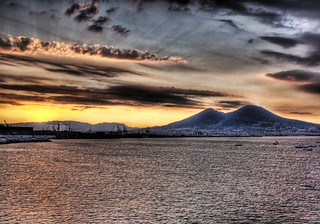 Streaming Morning Light at Vesuvius | by Stuck in Customs