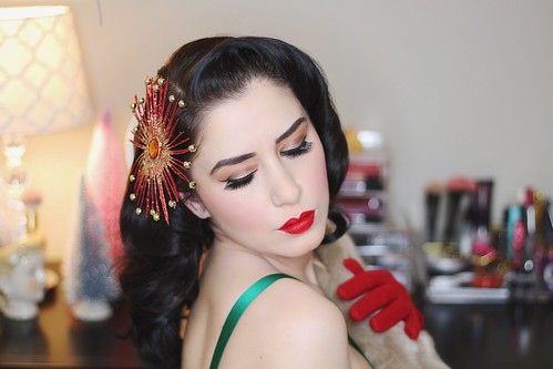 Holiday Vintage Inspired Looks With Besame Cosmetics