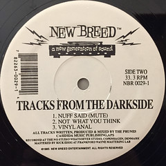 THE PRUNES:TRACKS FROM THE DARKSIDE(LABEL SIDE-B)