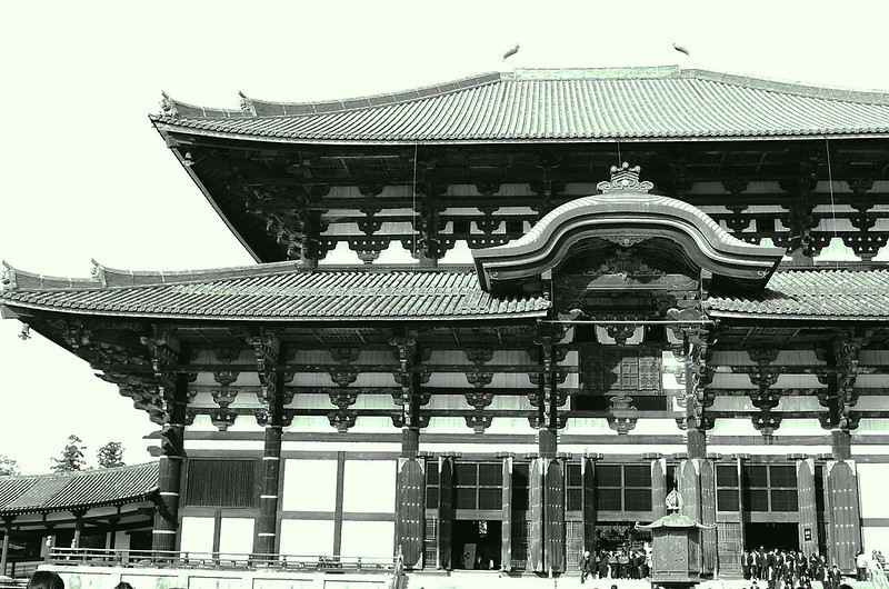 Todaiji Buddha statue hall