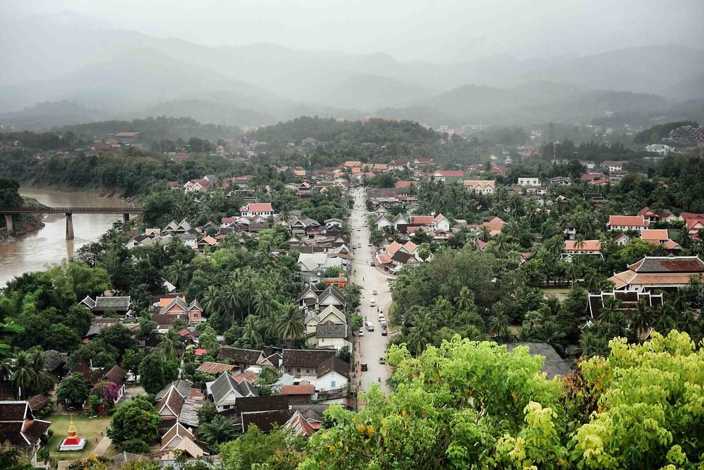 Luang Prabang - Mont Phousi 2