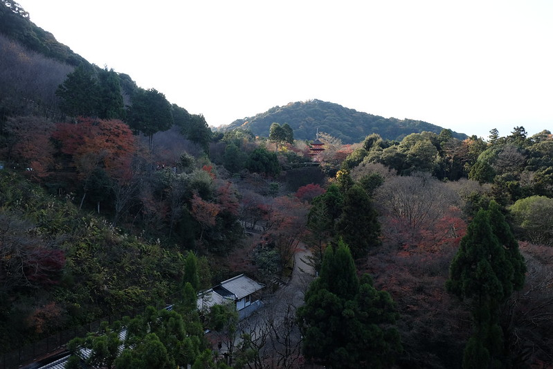 A scene from the Kiyomizu Stage