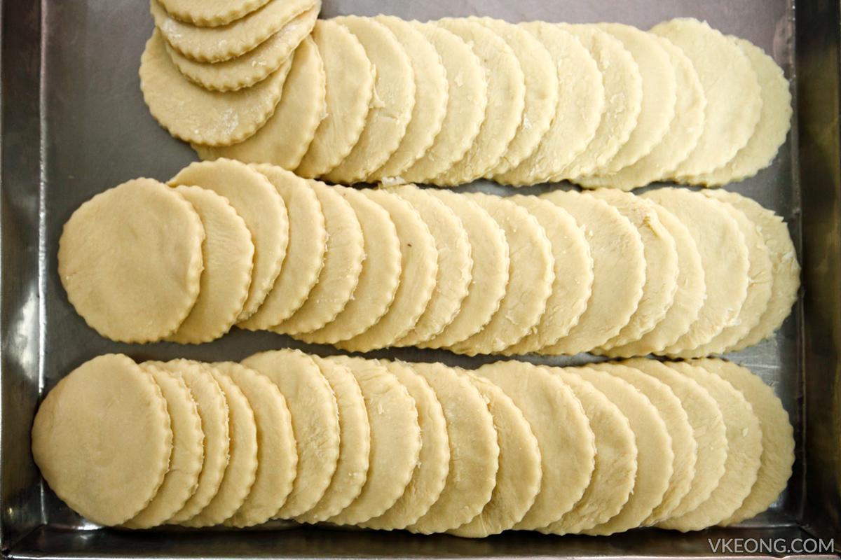 QunKee Biscuit Ipoh Kaya Puff Pastry
