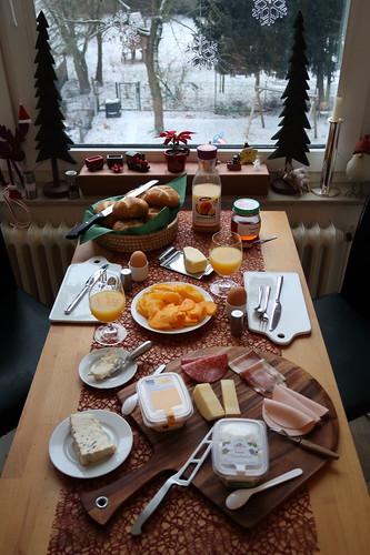 Frühstück am ersten Samstag des Jahres
