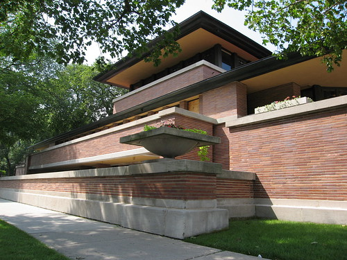 Robie House designed by Frank Lloyd Wright 1909 | by David Arpi