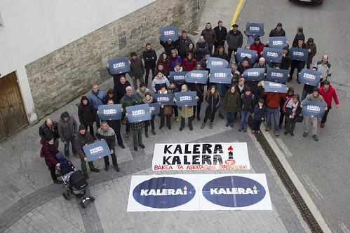 #KaleraKalera: Bakea eta askatasuna irabaztera