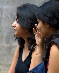 Two Girls in Delhi | by pradeep jeganathan
