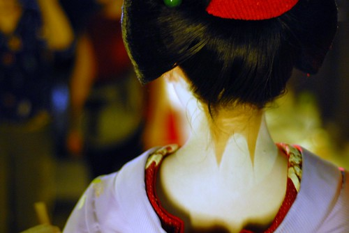 The neck of a maiko | by manganite