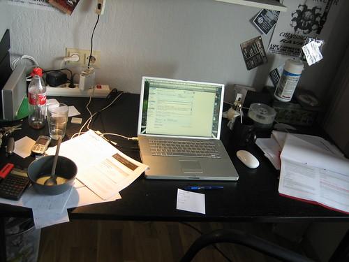 Home Office  Mein Arbeitsplatz zu Hause.  Daniel ...