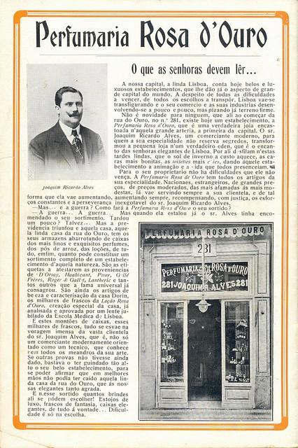 Ilustração Portugueza, No. 468, February 8 1915 - back cover