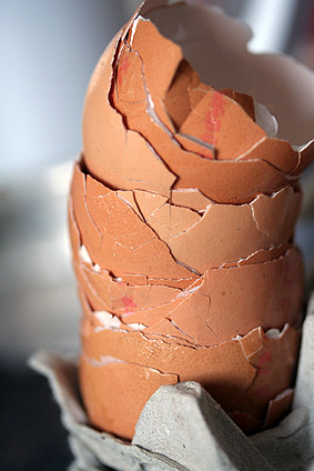 eggshells | by David Lebovitz