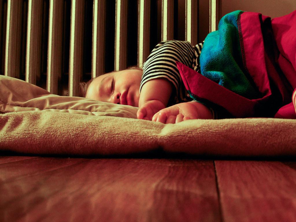 Dean sleeping