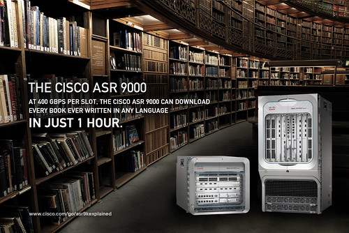 Cisco ASR 9000 Series and the World's Library | by Cisco Service Provider