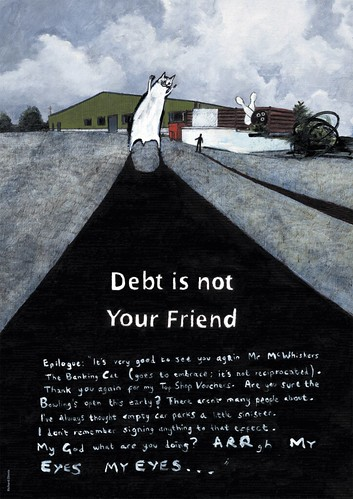 Debt is not your friend | by advice to sink in slowly