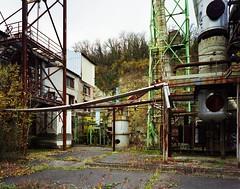 Usine pétrochimique abandonnée #1, France, novembre 2010