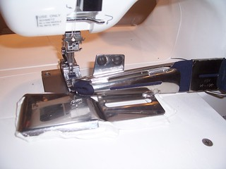 Janome coverpro with generic binder