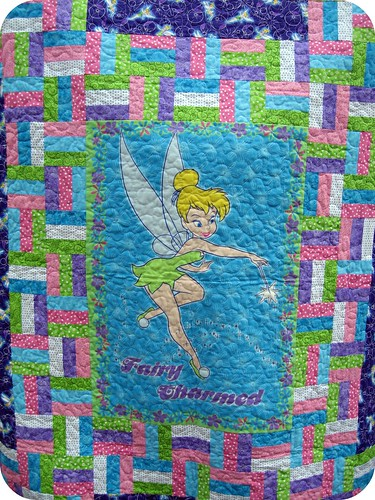 Tinkerbell Charity Quilt | by j_q_adams