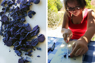 blue shavings | by secret agent josephine