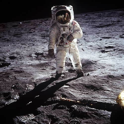 Buzz Aldrin on the Moon | by NASA on The Commons