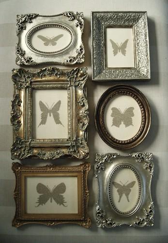 Entomologie  Cross stitch to original design: metallic ...