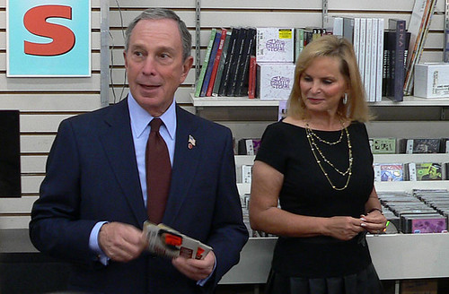Mayor Bloomberg & Rachelle Friedman | by Live at J&R