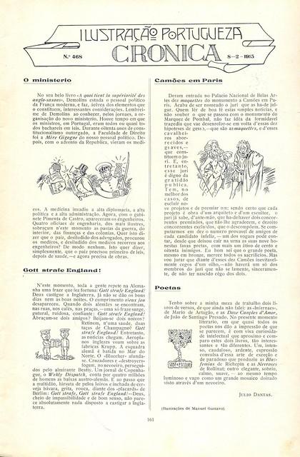 Ilustração Portugueza, No. 468, February 8 1915 - 2