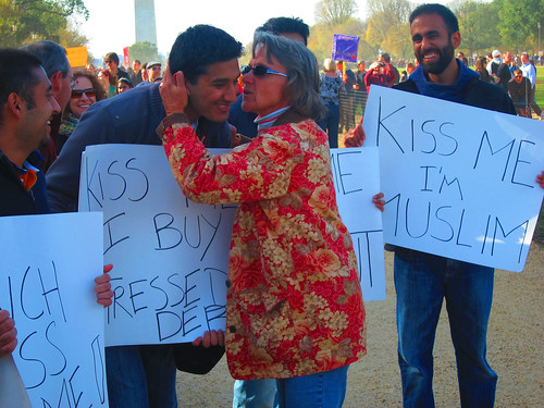 Kiss Me I'm Muslim | by lizstless