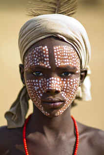 Erbore Boy With Painted Face - Ethiopia | by Steven Goethals