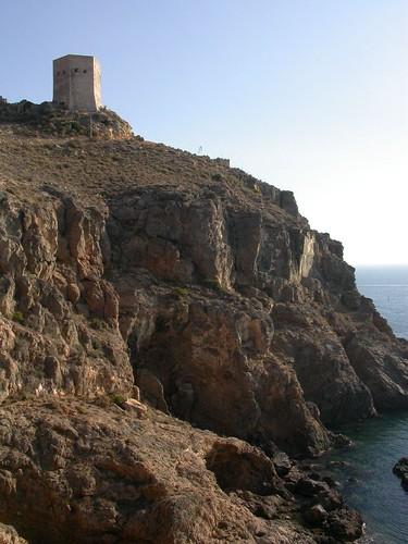 Santa Elena Spain  City new picture : Santa Elena Watch Tower La Azohia, Murcia, Spain | by howzey