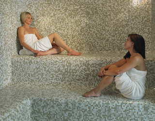 Co-Ed Steam Room at The Palms Spa | by thepalmshotel